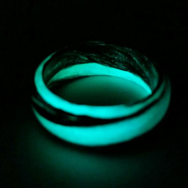 Teal Marble Glow