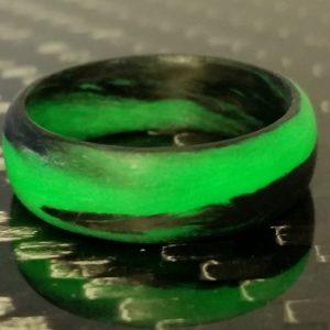 Green marble glow