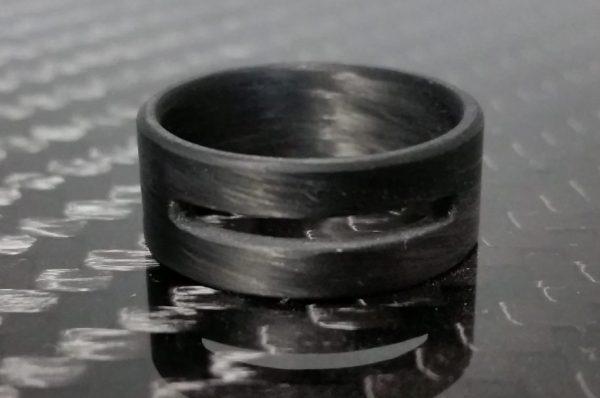 Carbon cutout ring