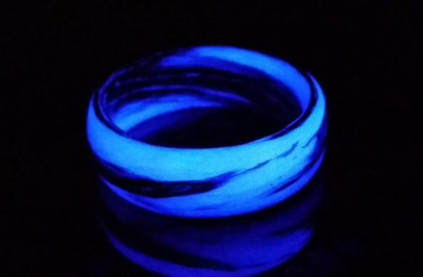 Purple Marble Glow