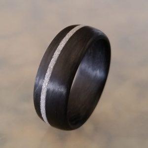 Carbon Fiber Diamond Inlay