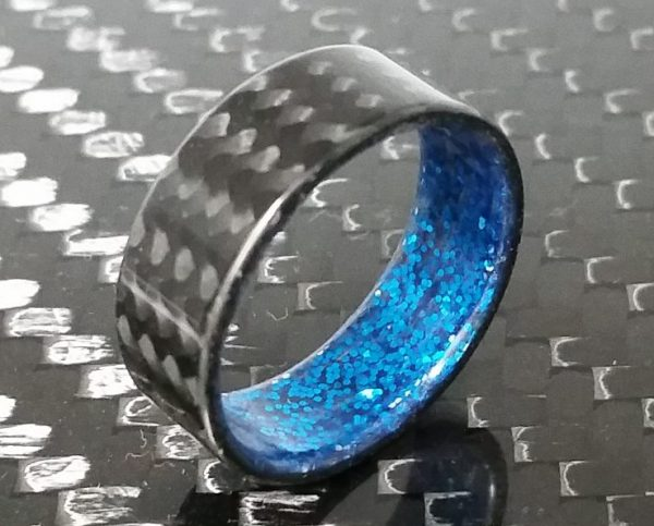 Twill Blue sparkle interior