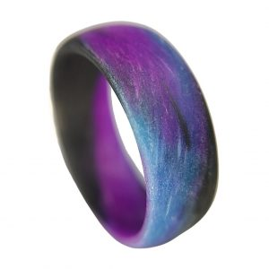blue purple black marble