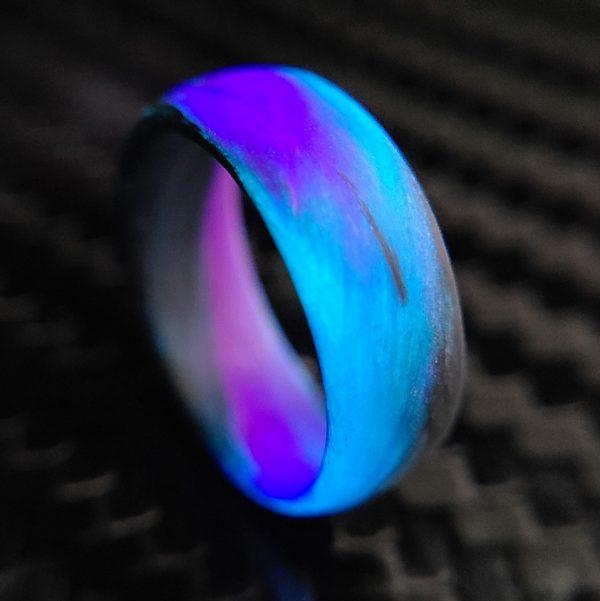 purple blue black marble