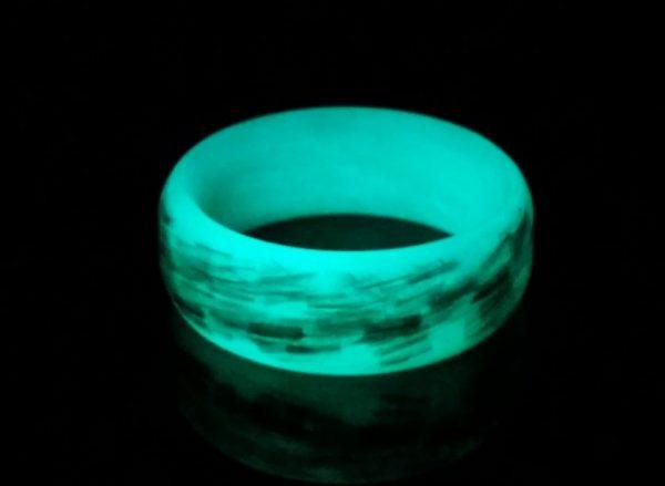 Texalium Teal glow ring