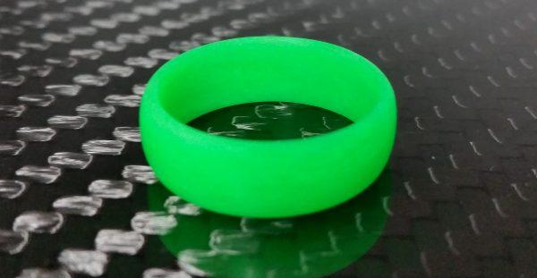 Legacy Green Glow ring