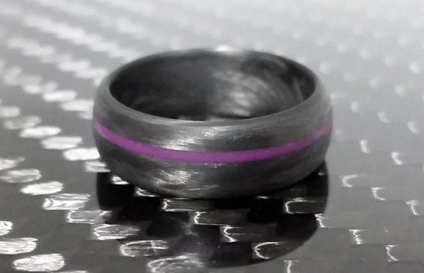 Legacy Purple glow line