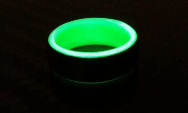 Uni green glowing interior