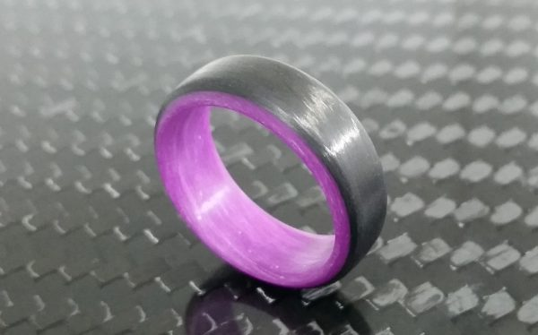 uni purple glowing interior