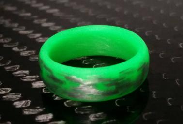 Texalium Green Glow Ring