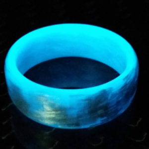 Texalium Blue glow ring