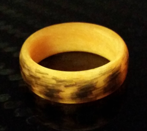 Texalium Orange Glow ring