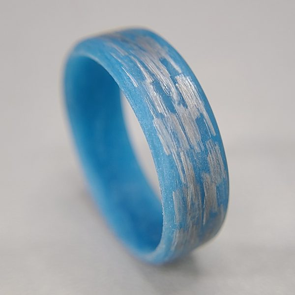 Texalium Blue Glow Ring