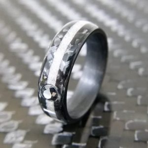 Carbon Twill 3mm Black Diamond
