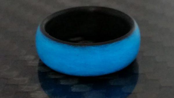 Blue Outside glow ring