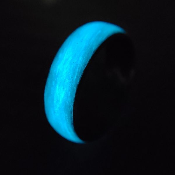 Carbon Legacy Blue Glow Ring
