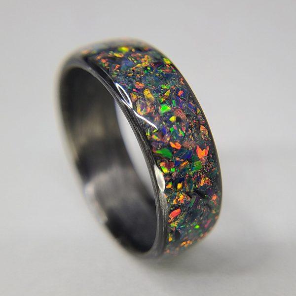 black fire opal