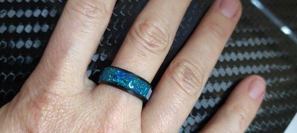 Sapphire Blue opal